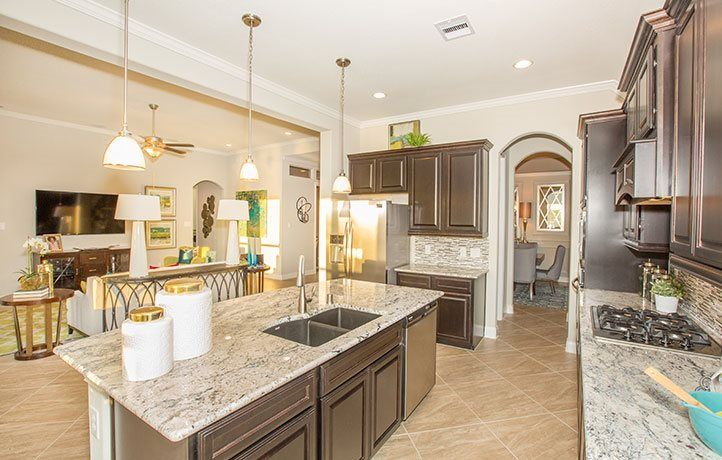 Kitchen featured in the Jade By Lennar in Houston, TX