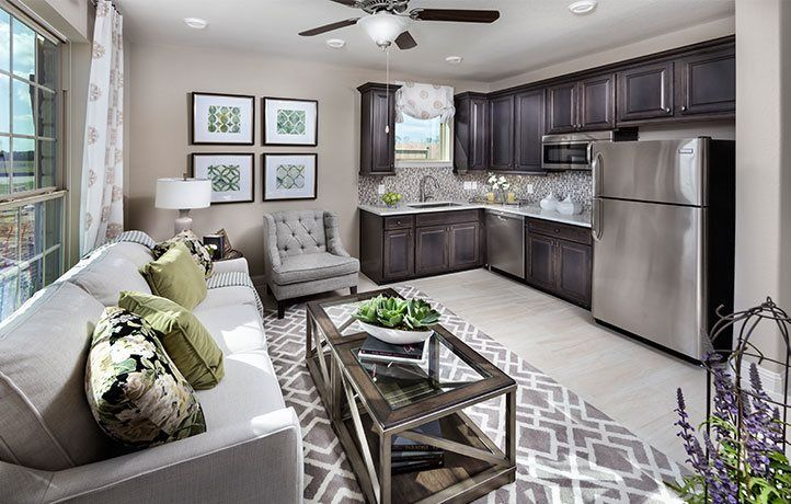 Living Area featured in the Amethyst By Lennar in Houston, TX