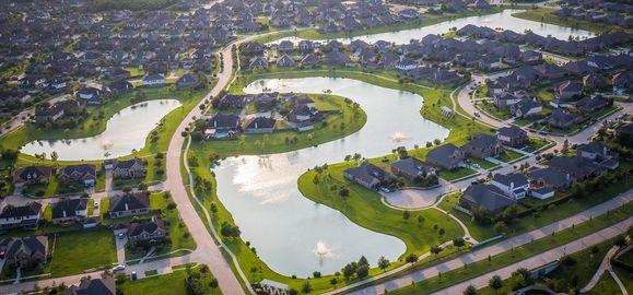 Lakes of Savannah Aerial