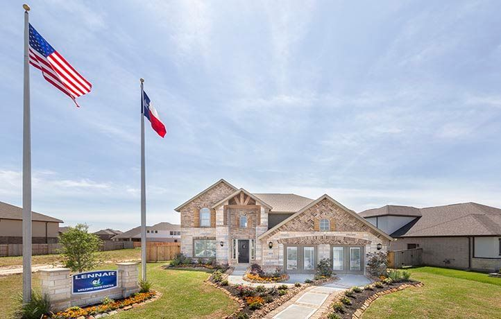 Exterior featured in the Wakefield By Lennar in Houston, TX
