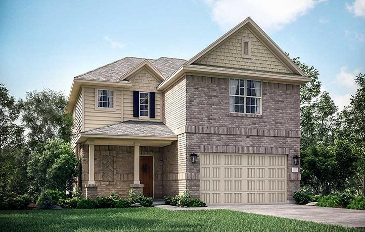 'Porter Ranch - Magnolia Collection' by Lennar - Houston in Houston