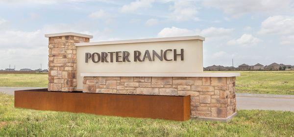 The Porter Ranch Entrance