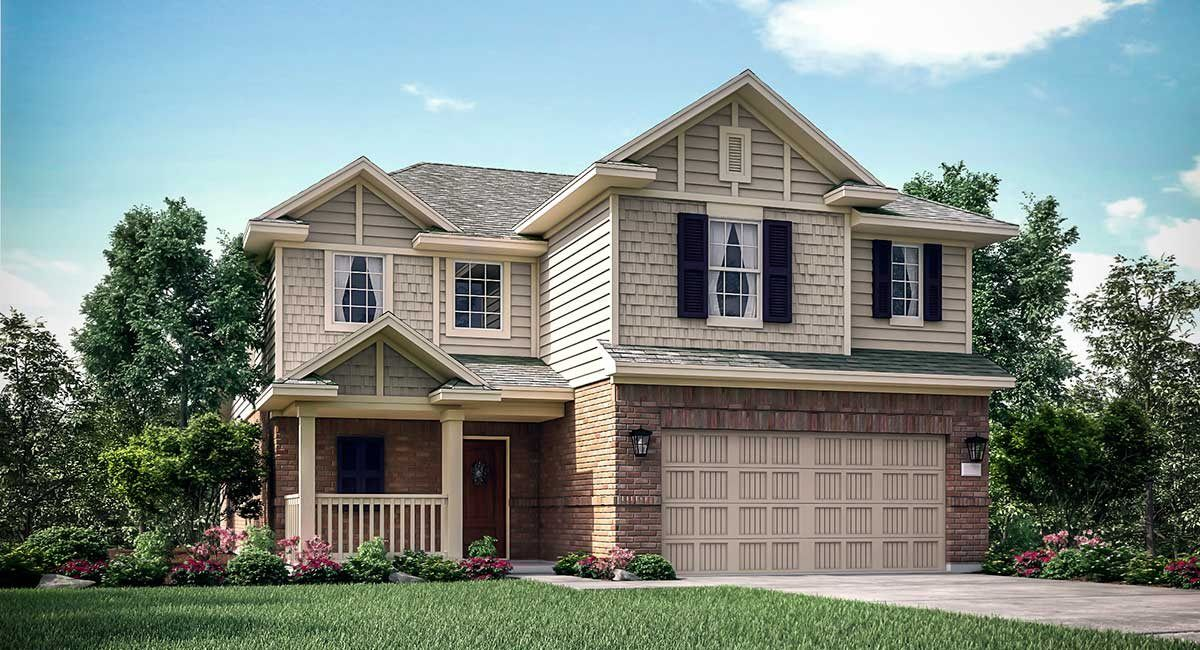 Exterior featured in the Rosemary II By Lennar in Houston, TX