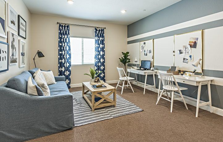 Living Area featured in the Chevalier By Lennar in Fresno, CA