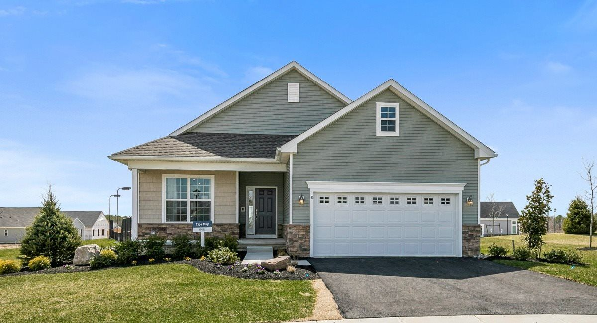 Exterior featured in the Cape May By Lennar in Ocean County, NJ