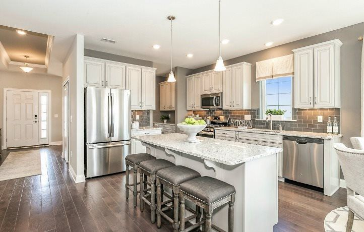 Kitchen featured in the Cape May By Lennar in Ocean County, NJ