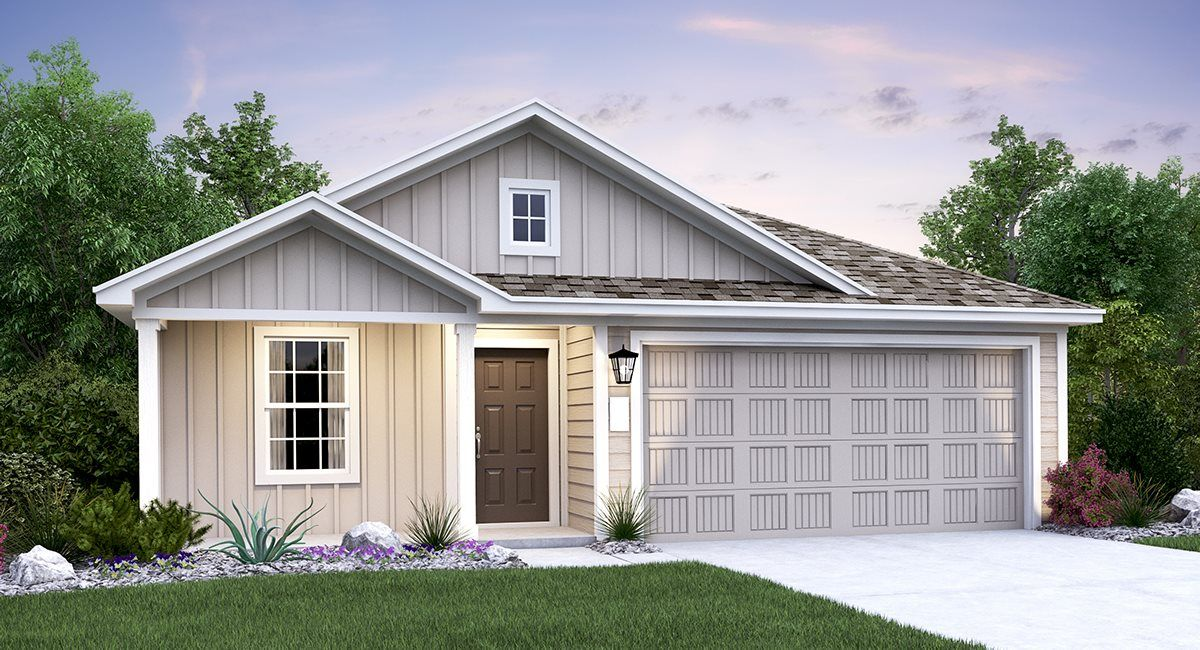 Exterior featured in the Fullerton By Lennar in San Antonio, TX