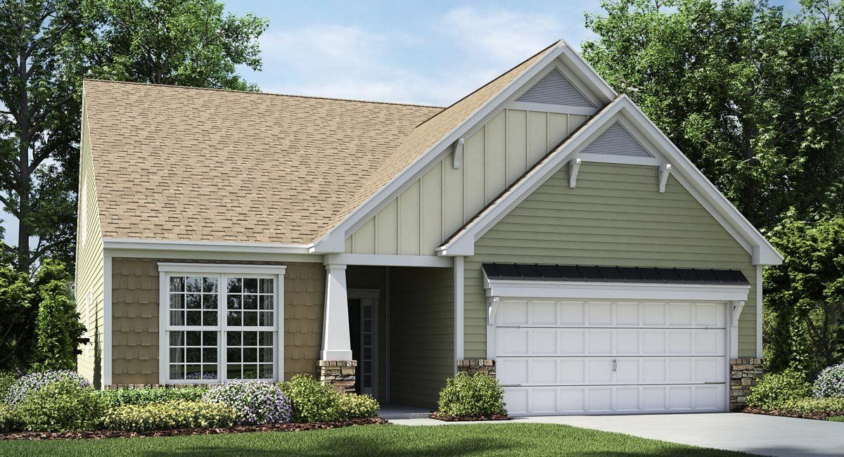 Exterior featured in the Cambridge By Lennar in Charlotte, SC