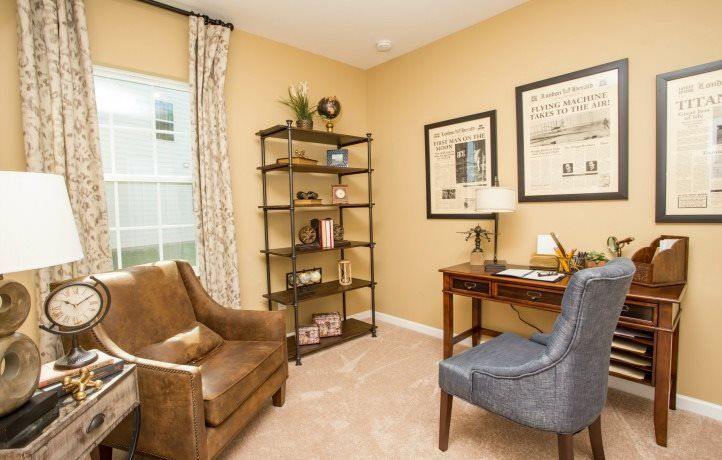 Living Area featured in the Dorchester By Lennar in Charlotte, SC