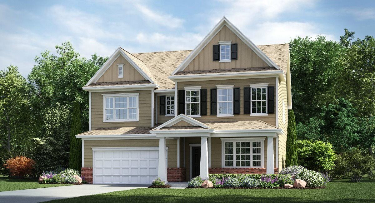 Exterior featured in the Greenway By Lennar in Charlotte, NC