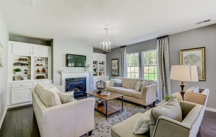 Living Area featured in the Hunter Basement By Lennar in Charlotte, NC