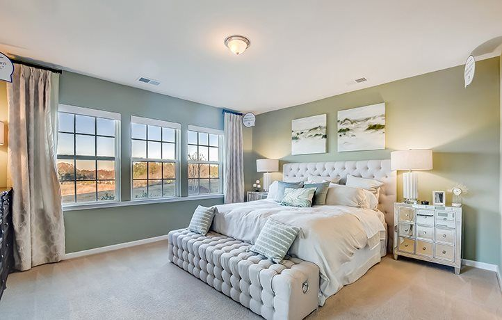 Bedroom featured in the Cambridge By Lennar in Charlotte, NC