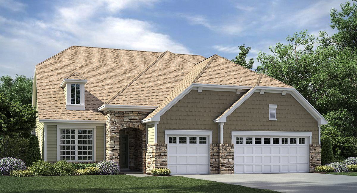 Exterior featured in the Garland By Lennar in Charlotte, NC