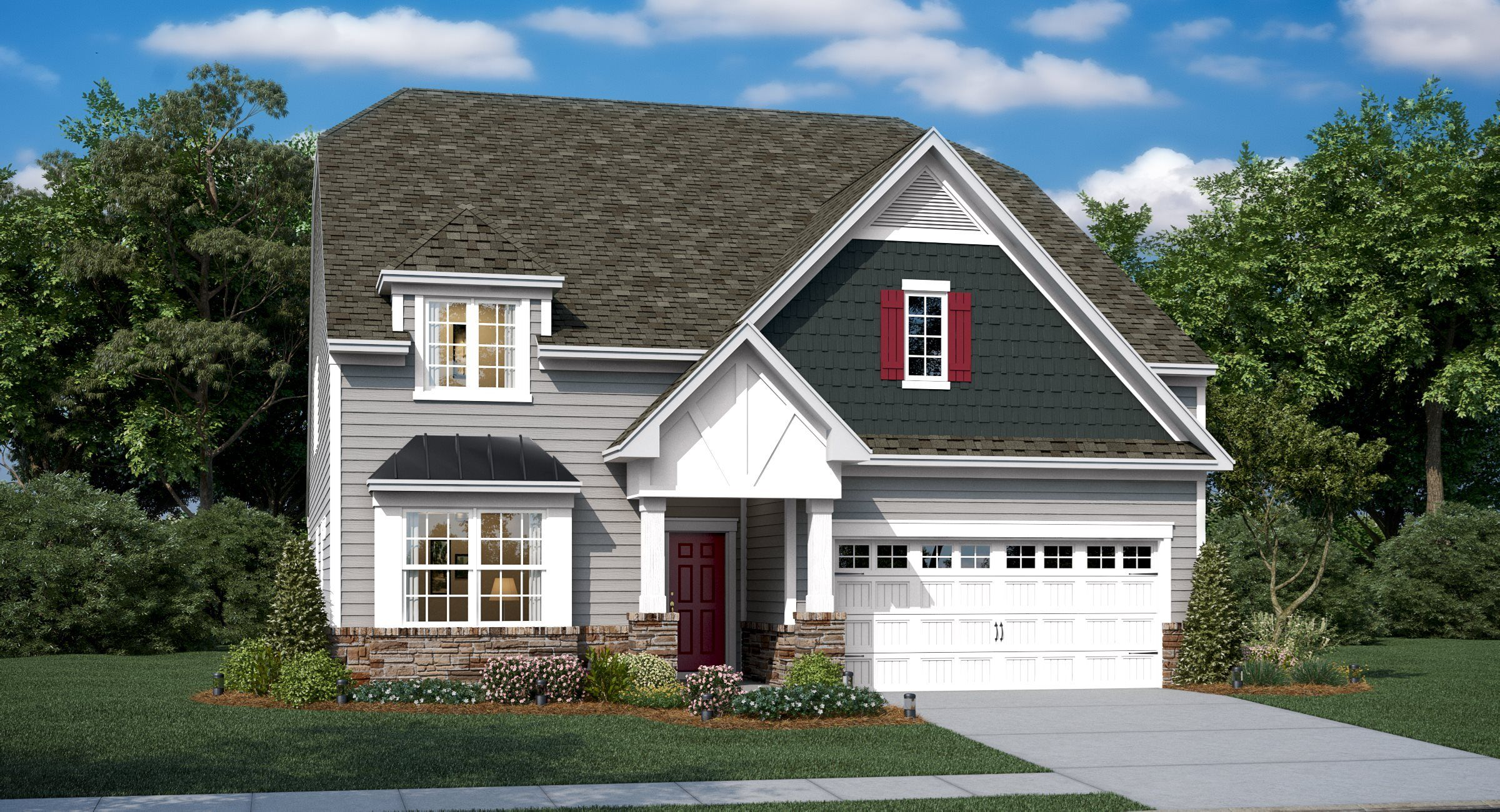 Exterior featured in the Dorchester Basement By Lennar in Charlotte, NC