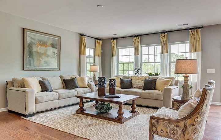 Living Area featured in the Dorchester Basement By Lennar in Charlotte, NC