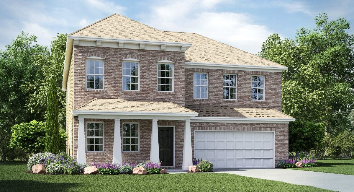 Exterior featured in the Grisham By Lennar in Charlotte, NC