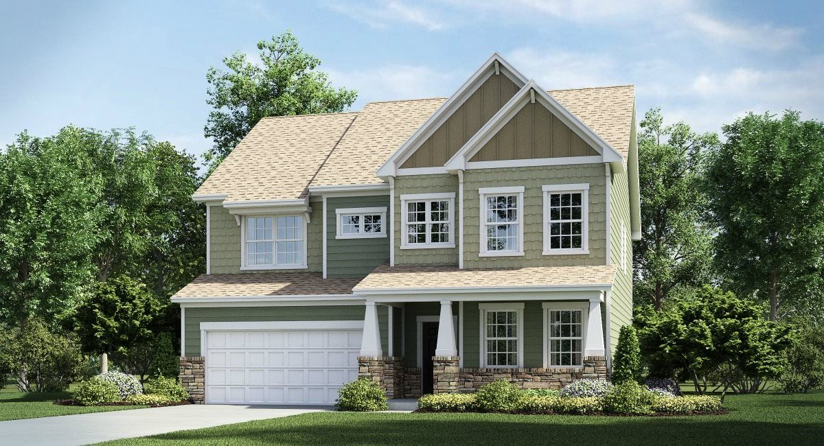 Exterior featured in the Greenway Basement By Lennar in Charlotte, NC