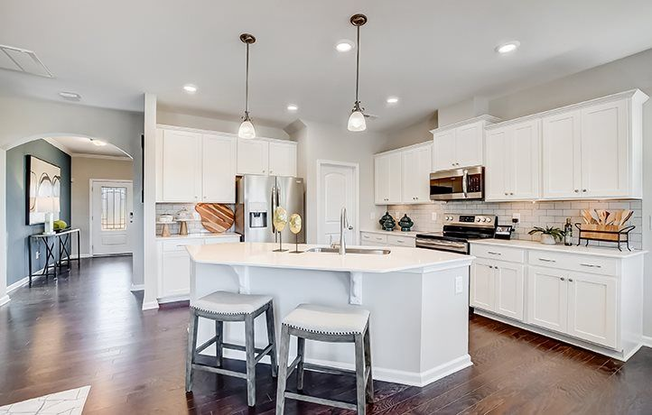 Kitchen featured in the Greenway Basement By Lennar in Charlotte, NC