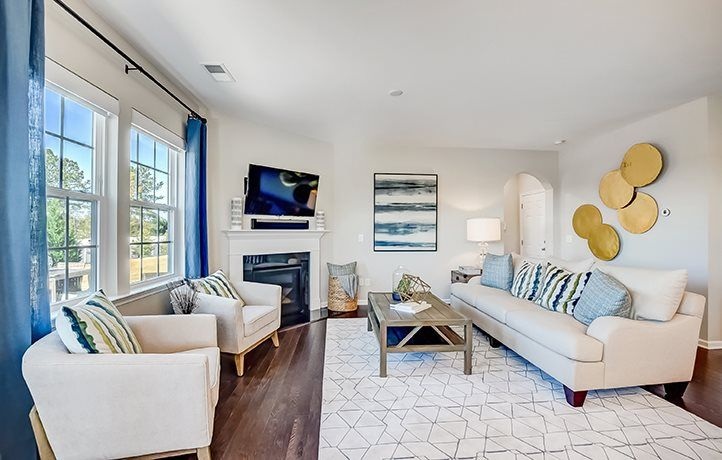 Living Area featured in the Greenway Basement By Lennar in Charlotte, NC