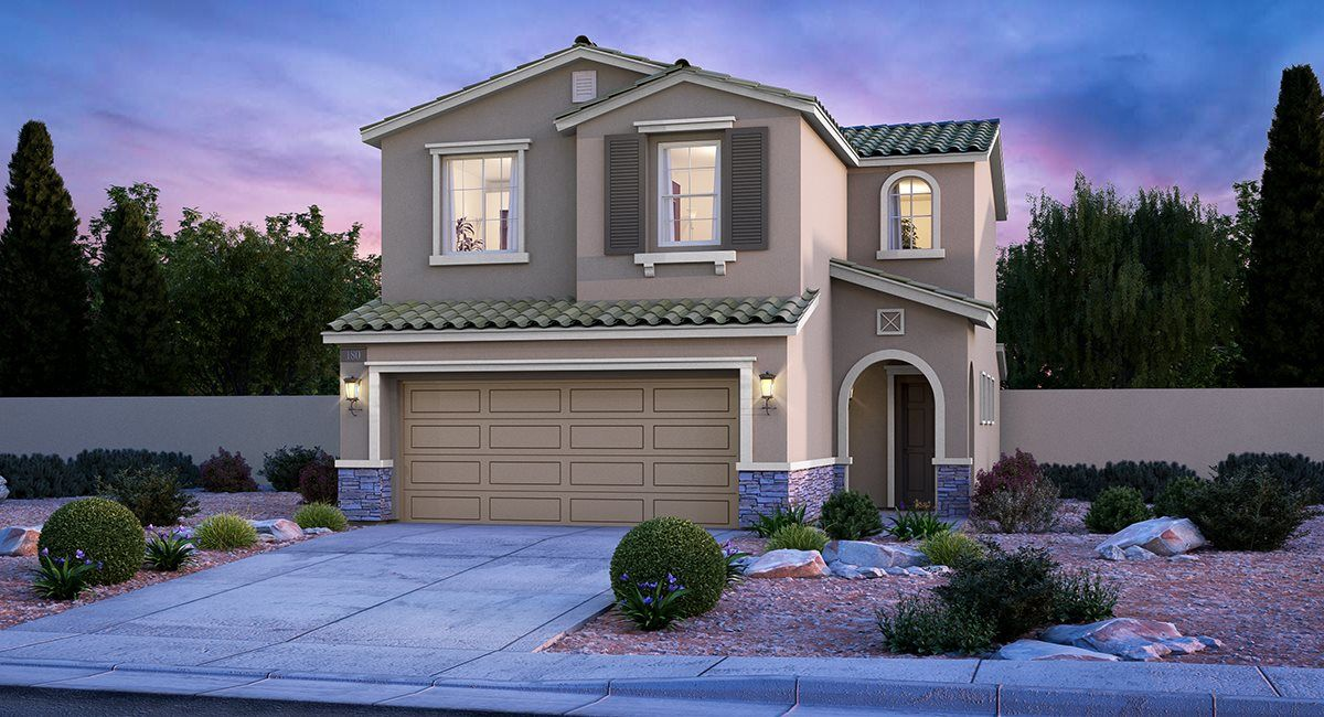 Exterior featured in the Gardenia By Lennar in Las Vegas, NV