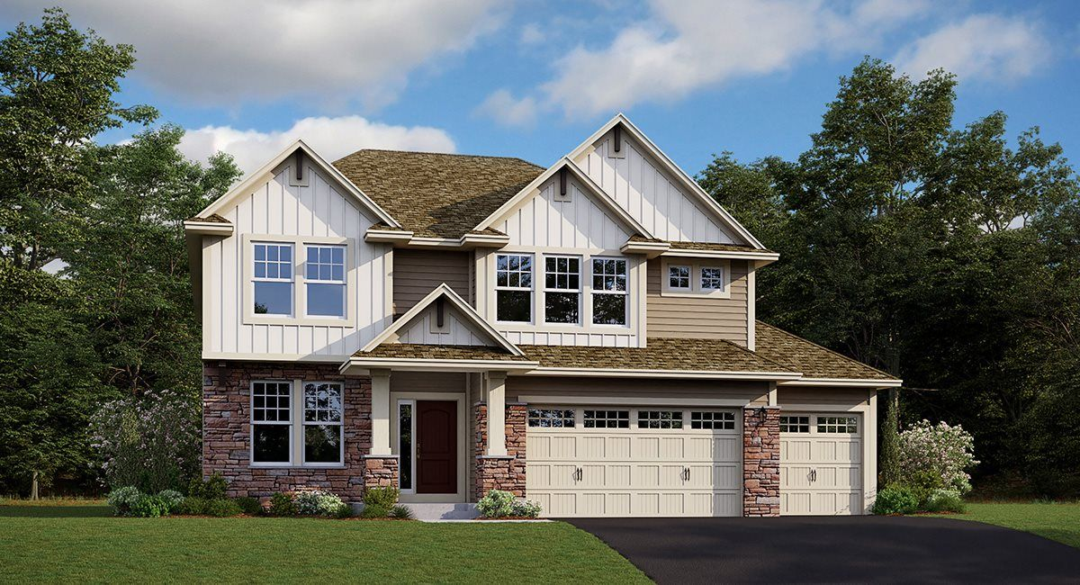 Exterior featured in the Washburn EI By Lennar in Minneapolis-St. Paul, MN