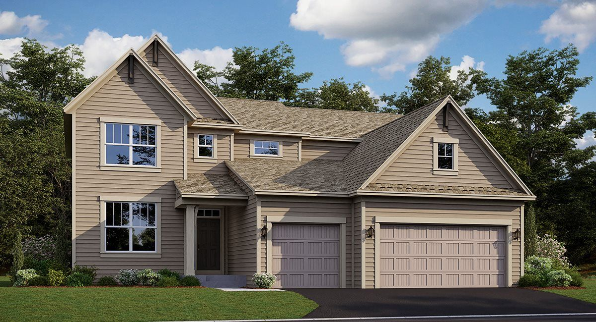 Exterior featured in the McKinley EI By Lennar in Minneapolis-St. Paul, MN