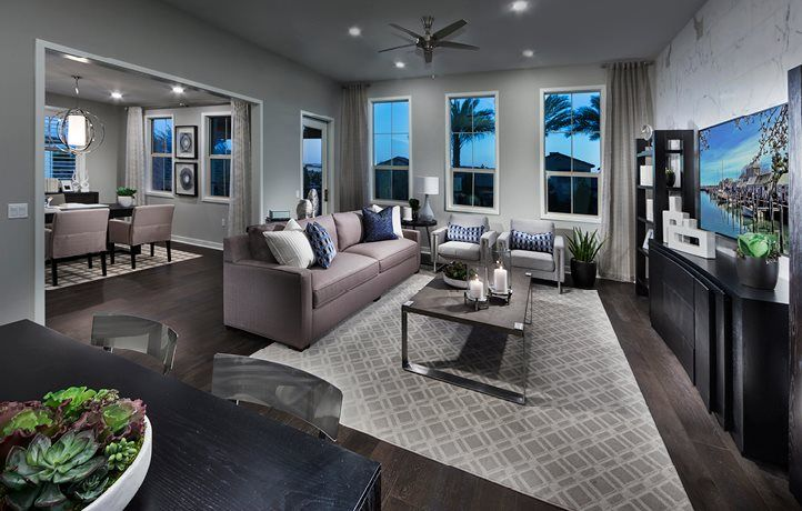 Living Area featured in the Residence 3 By Lennar in Orange County, CA