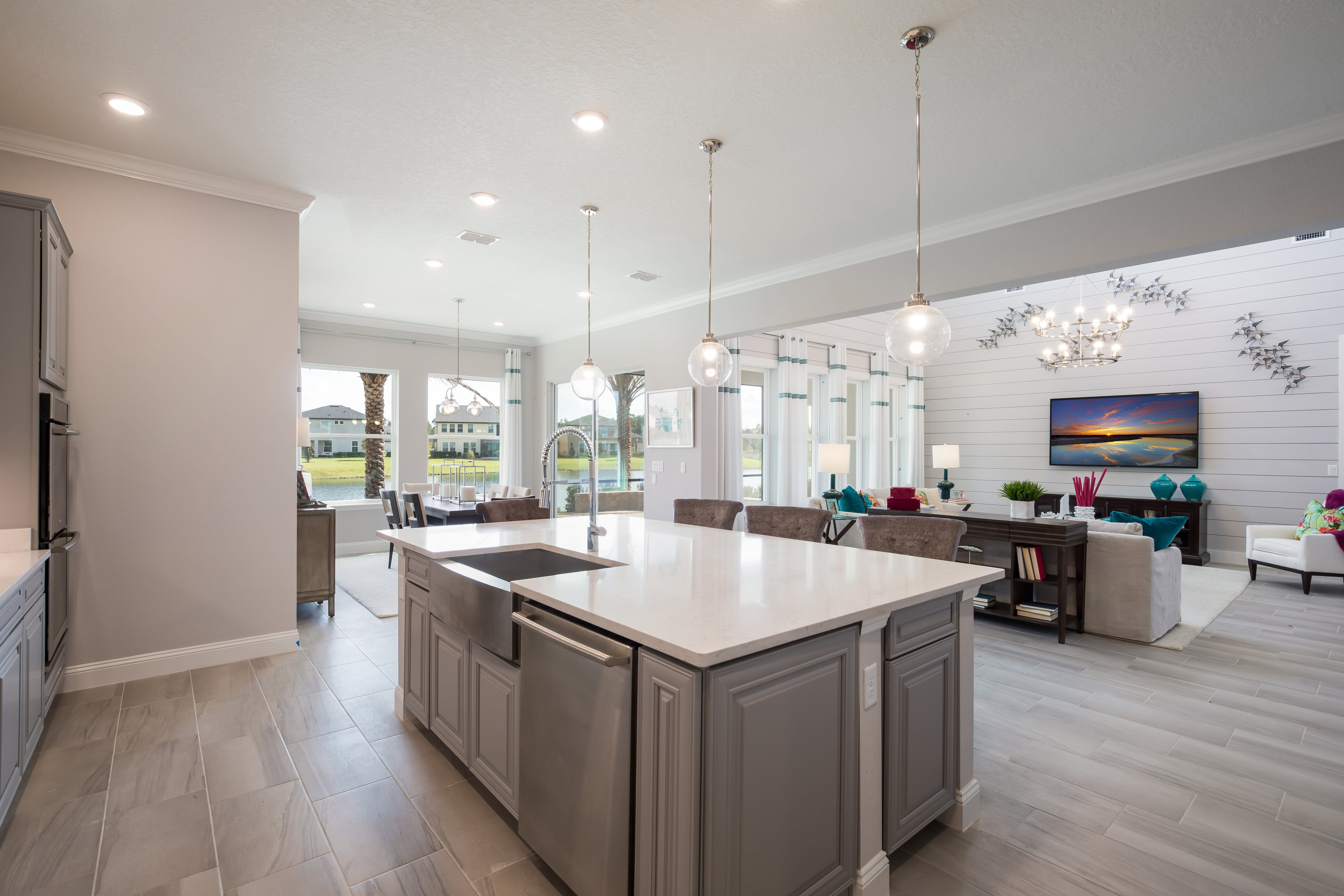 Kitchen featured in the CRAWFORD By Lennar in Jacksonville-St. Augustine, FL
