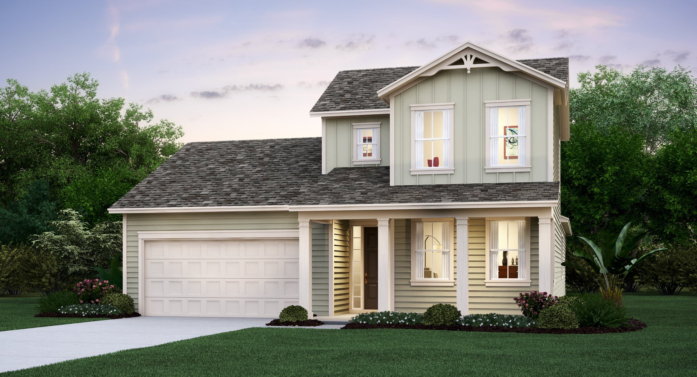 Exterior featured in the LIBERTY By Lennar in Jacksonville-St. Augustine, FL