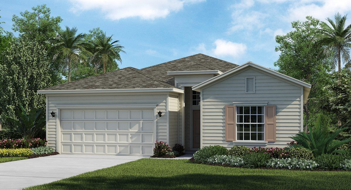 Exterior featured in the TREVI By Lennar in Jacksonville-St. Augustine, FL