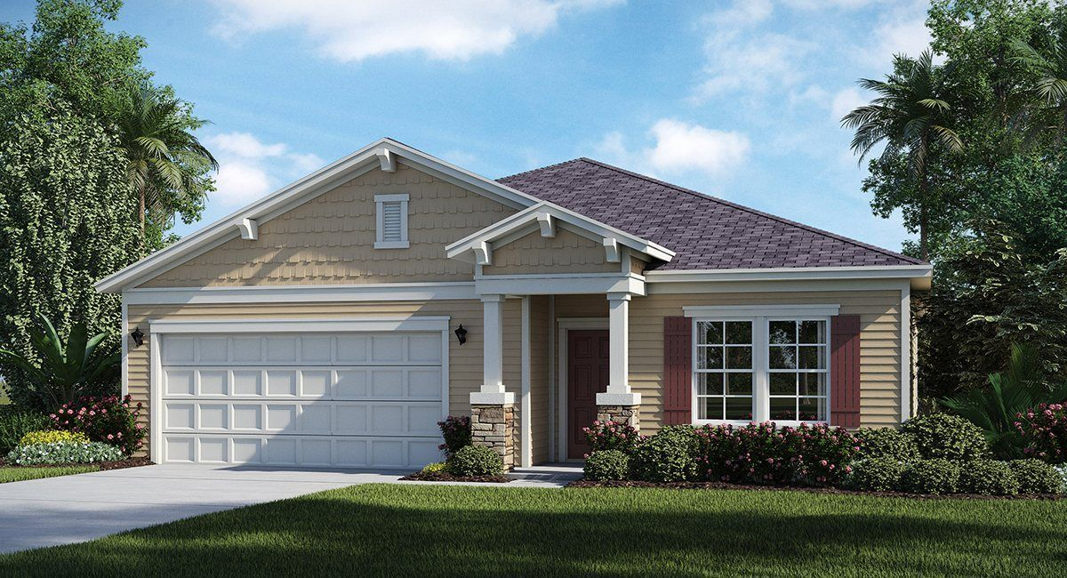 Exterior featured in the CHARLE By Lennar in Jacksonville-St. Augustine, FL