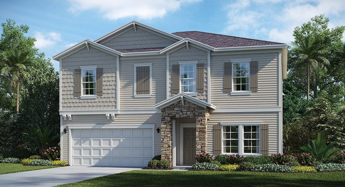 Exterior featured in the BRIO By Lennar in Jacksonville-St. Augustine, FL