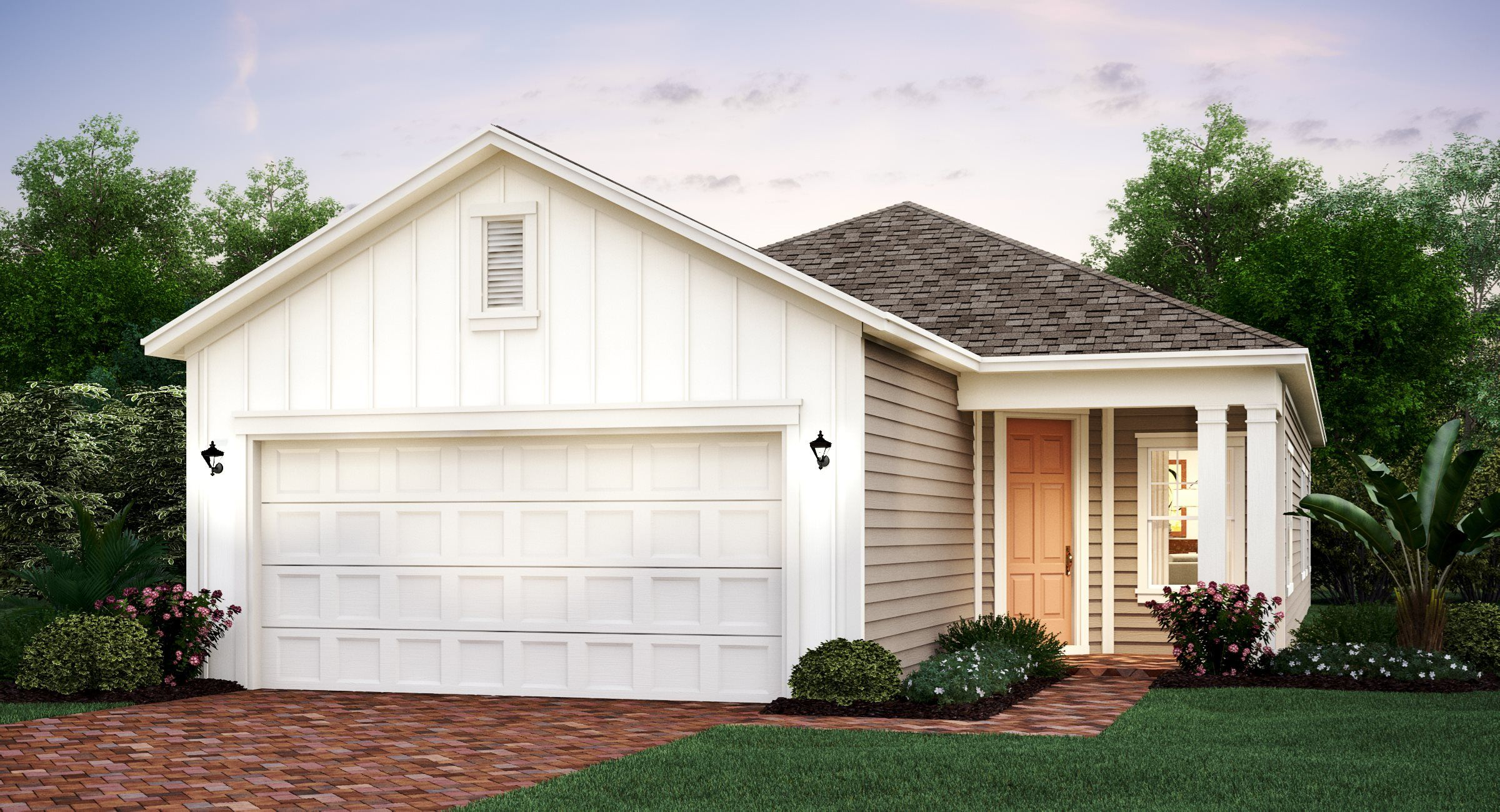Exterior featured in the JESSICA By Lennar in Jacksonville-St. Augustine, FL