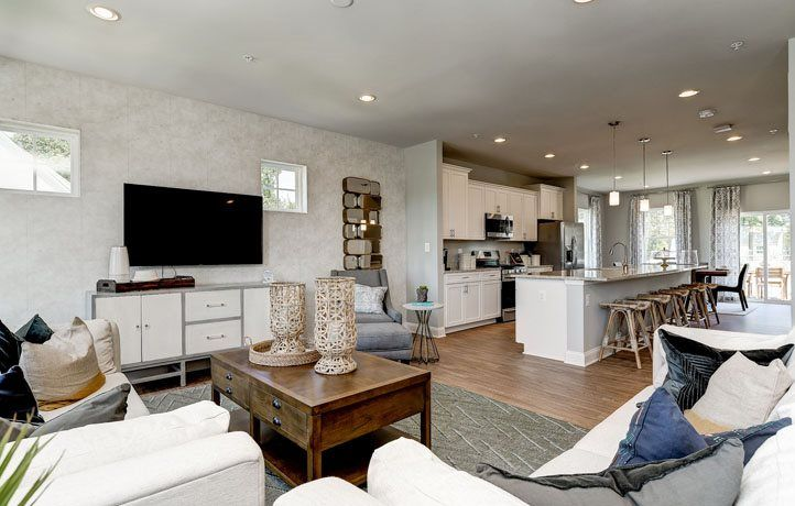Living Area featured in the Ellicott Front Load Garage By Lennar in Baltimore, MD