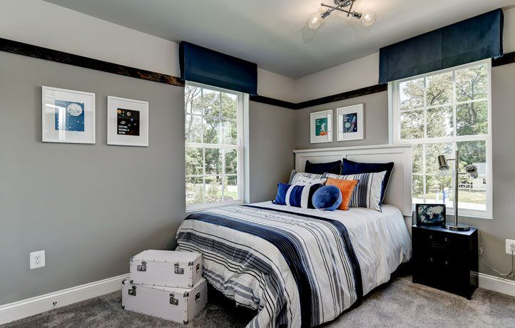 Bedroom featured in the Ellicott Front Load Garage By Lennar in Baltimore, MD