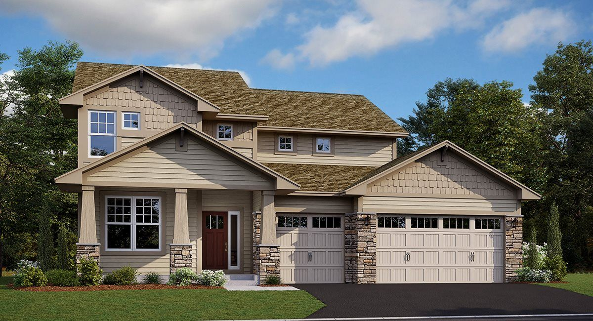 Exterior featured in the Calloway EI By Lennar in Minneapolis-St. Paul, MN