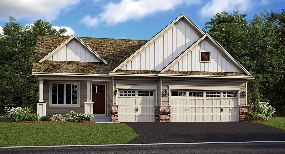 Exterior featured in the Courtland By Lennar in Minneapolis-St. Paul, MN
