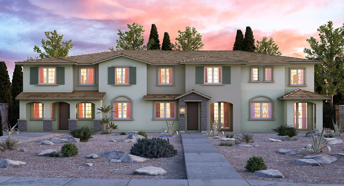 Exterior featured in the Bartlett By Lennar in Las Vegas, NV