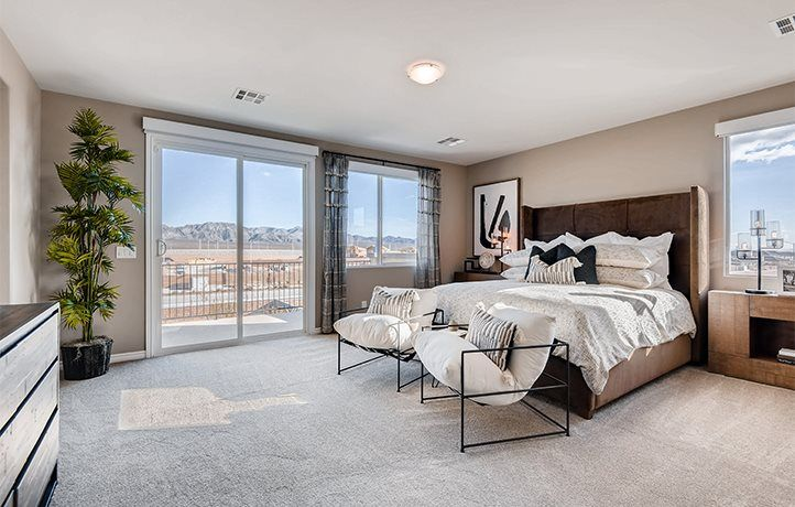 Bedroom featured in the Everest Next Gen By Lennar in Las Vegas, NV
