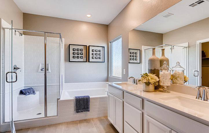 Bathroom featured in the Somerset By Lennar in Las Vegas, NV