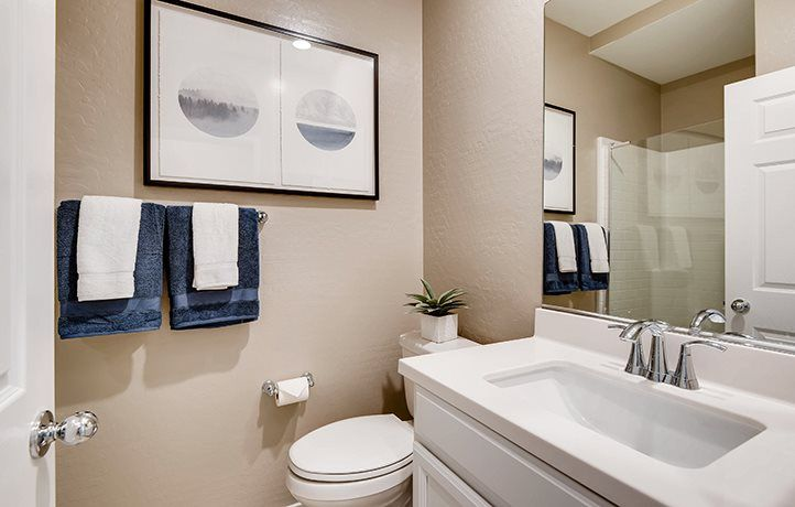 Bathroom featured in the Marigold By Lennar in Las Vegas, NV