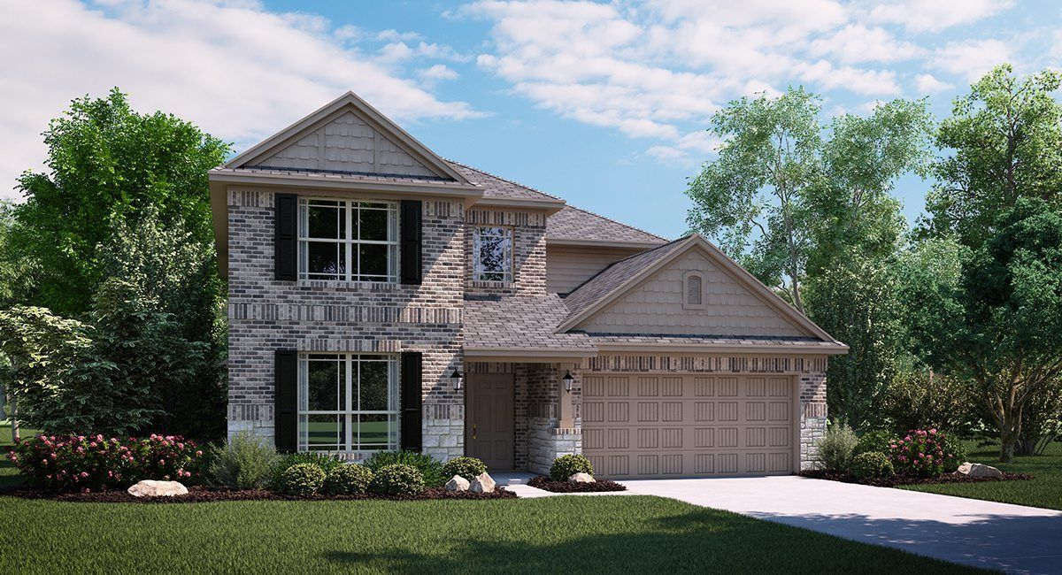 Exterior featured in the Carnelian By Lennar in Fort Worth, TX
