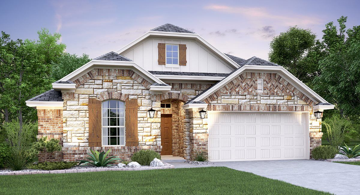 Exterior featured in the Madura By Lennar in San Antonio, TX