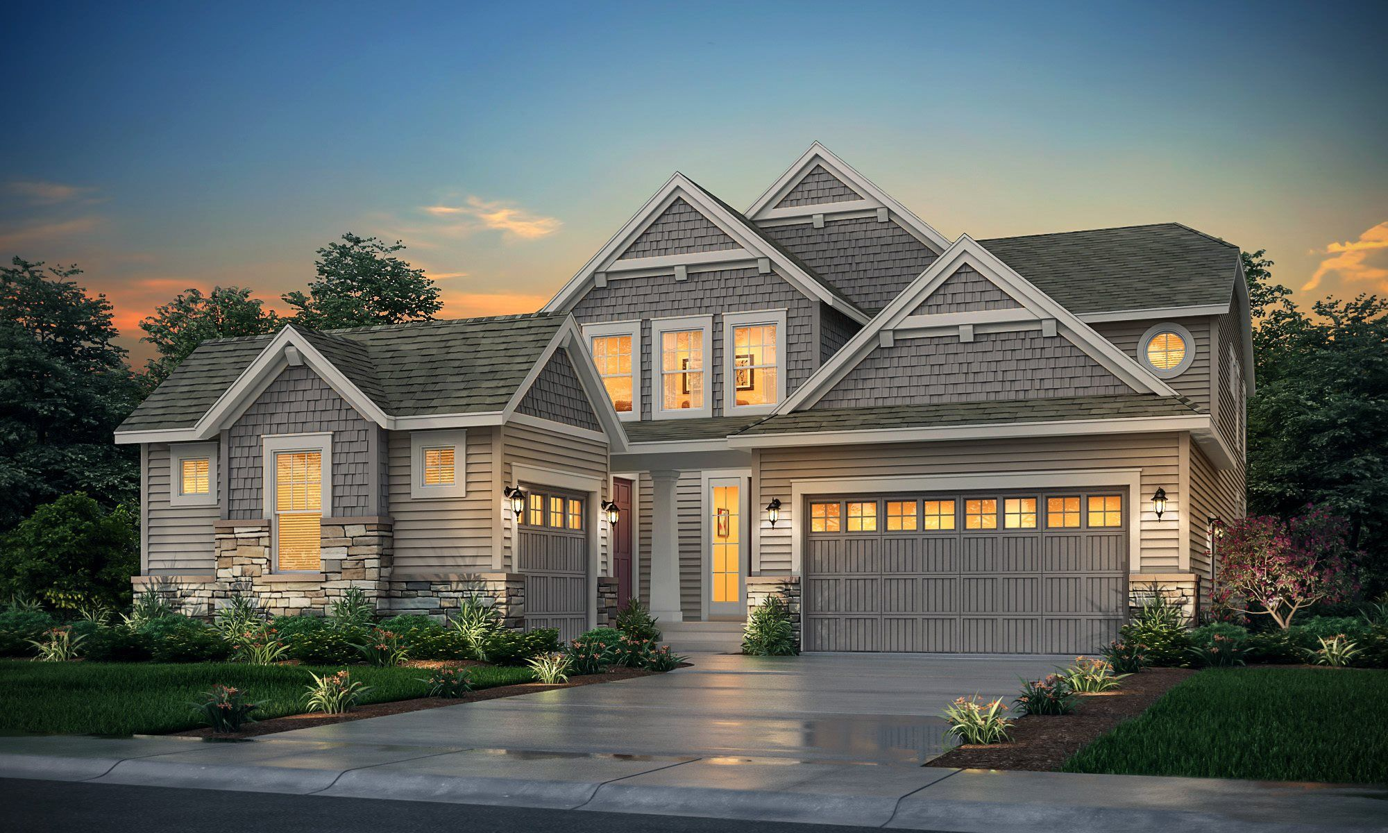Exterior featured in the SuperHome SL By Lennar in Denver, CO