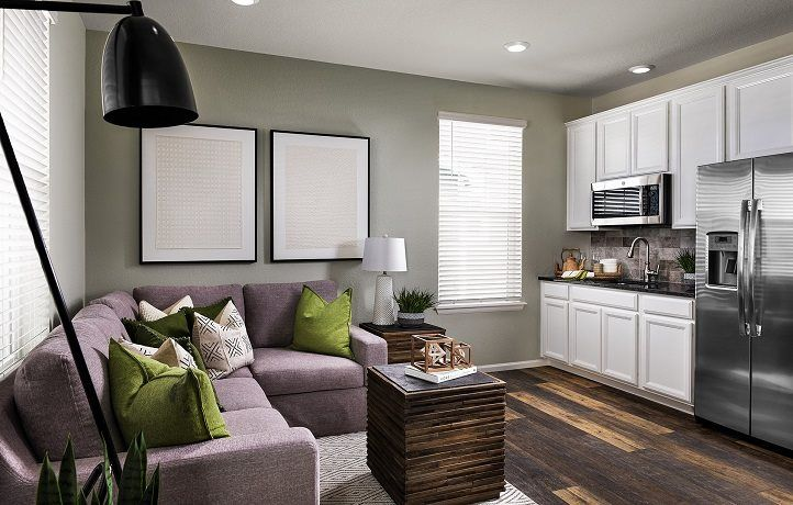 Living Area featured in the Chelton By Lennar in Boulder-Longmont, CO
