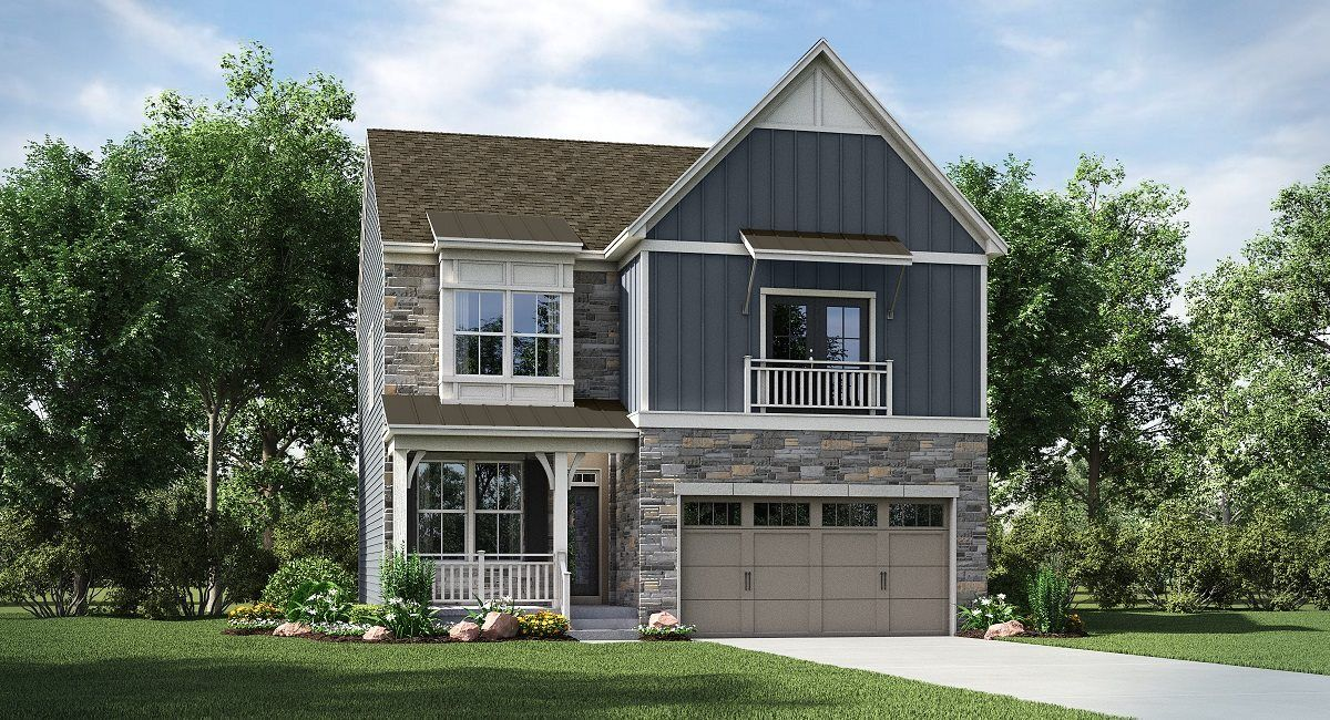Exterior featured in the Colchester By Lennar in Washington, VA