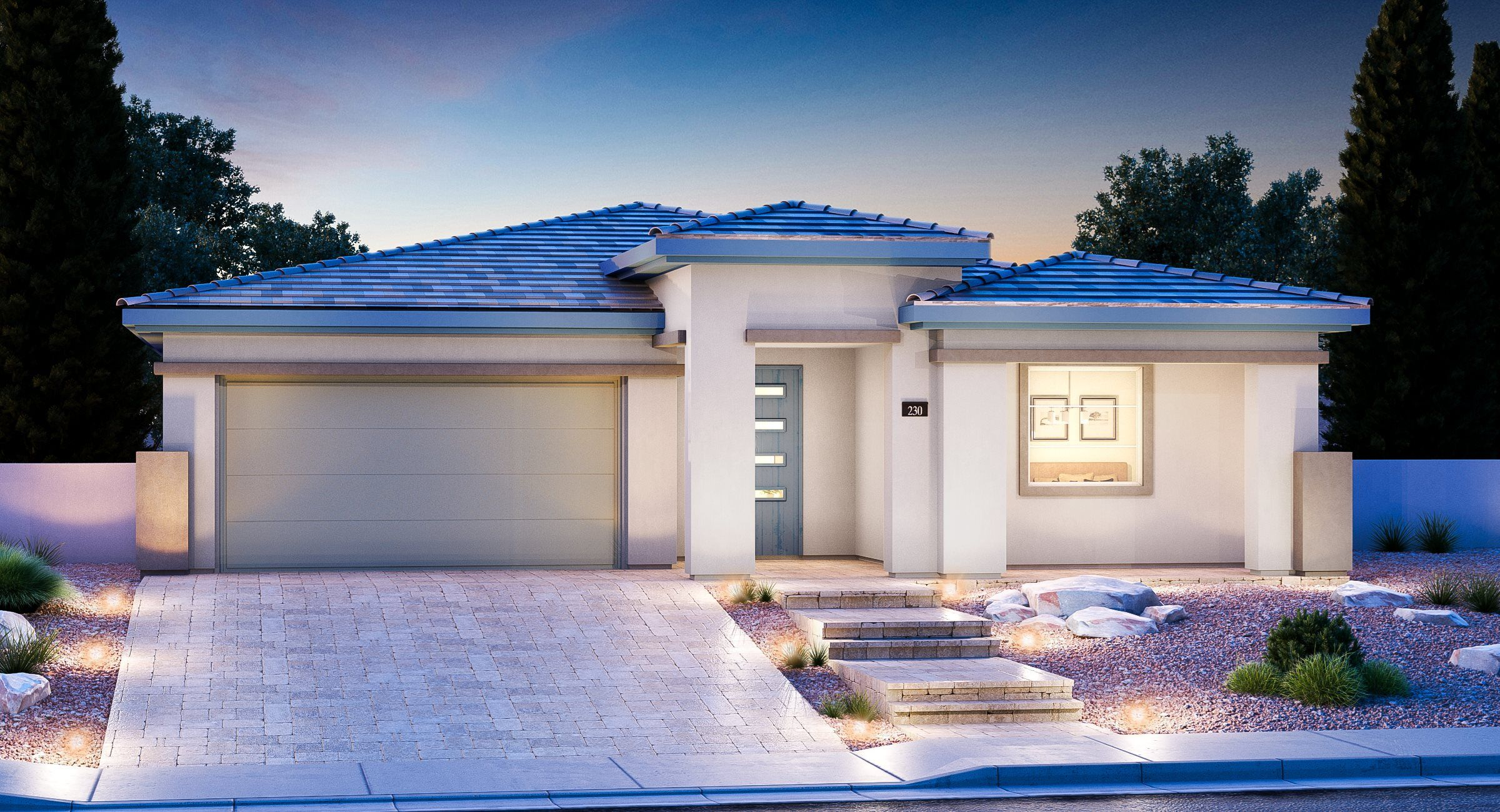 Exterior featured in the National By Lennar in Las Vegas, NV