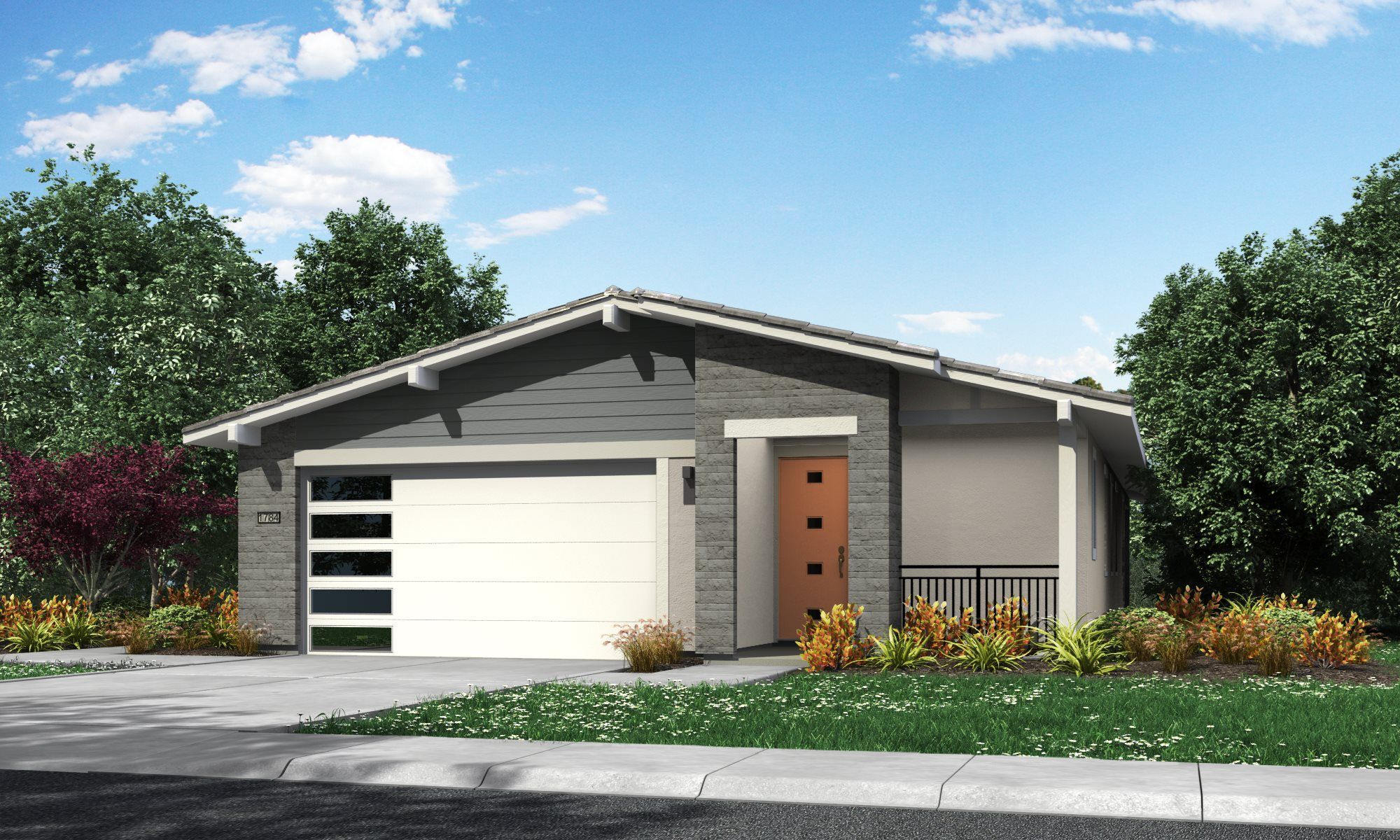 Exterior featured in the Residence 1784 By Lennar in Sacramento, CA