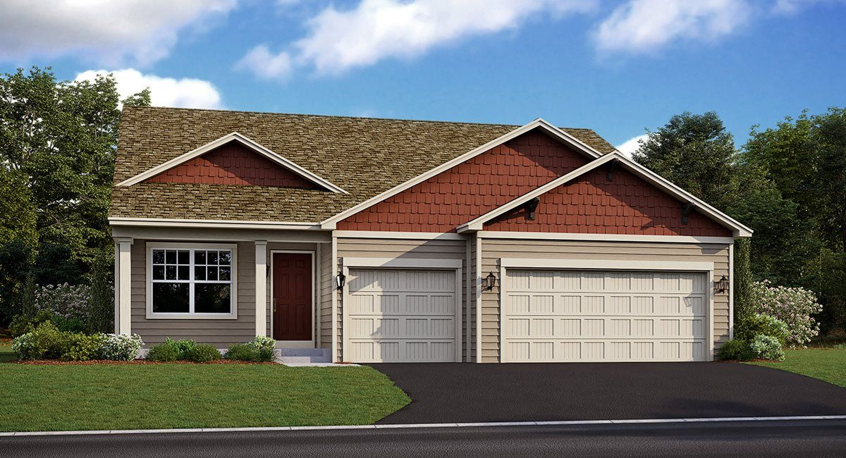 Exterior featured in the Carlisle  EI By Lennar in Minneapolis-St. Paul, MN