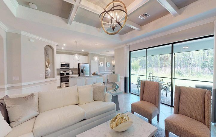 Living Area featured in The Princeton II By Lennar in Fort Myers, FL